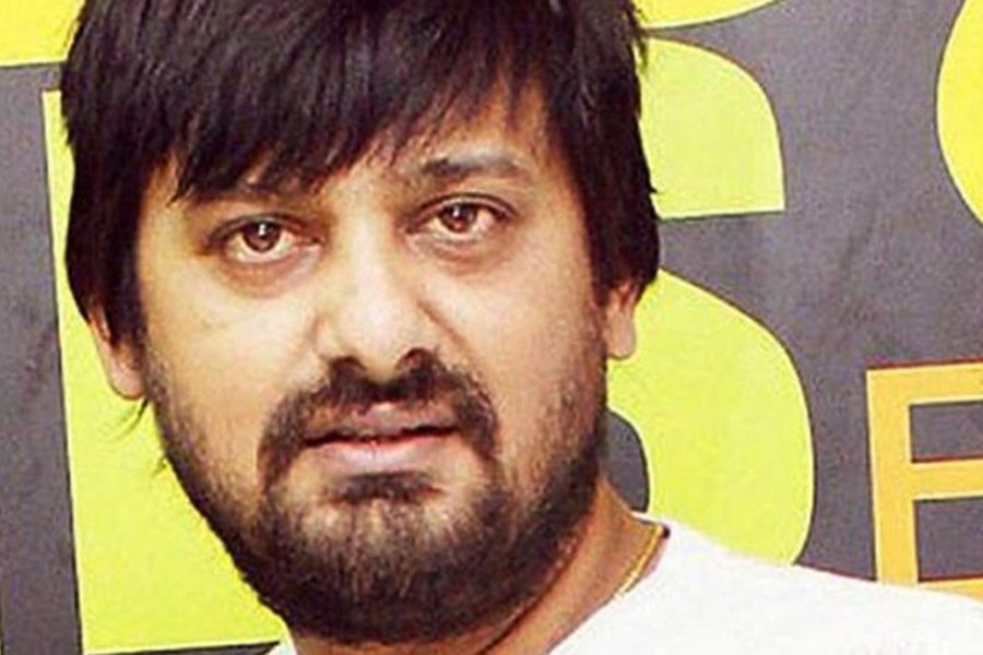 File photo of Indian music composer-singer Wajid Khan. (Collected)