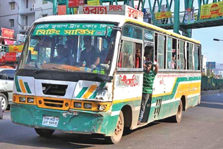 Bus services resume following few health guidelines