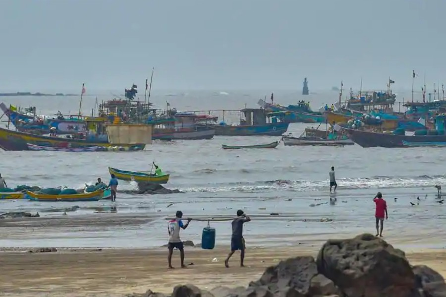 Fishing boats have been asked to come back to the shore - PTI photo