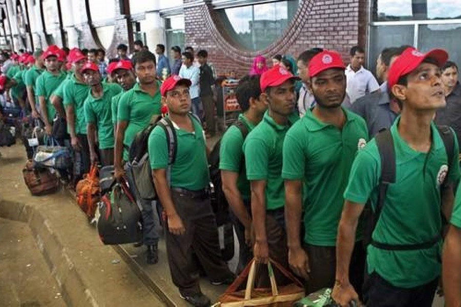 Homebound expat workers