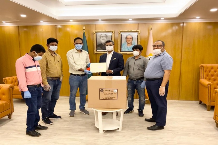 FBCCI hands over PPE to ERF