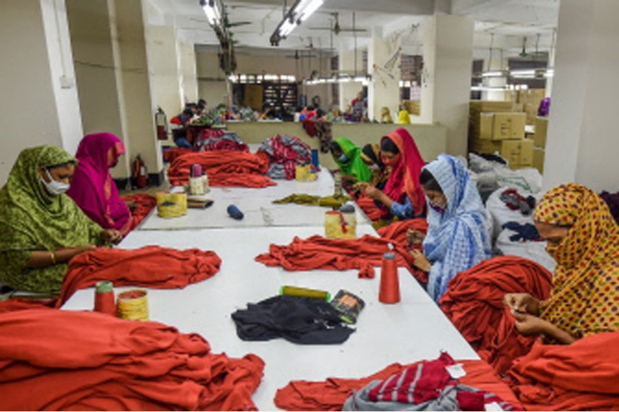 Pain stresses of garment workers at workplace