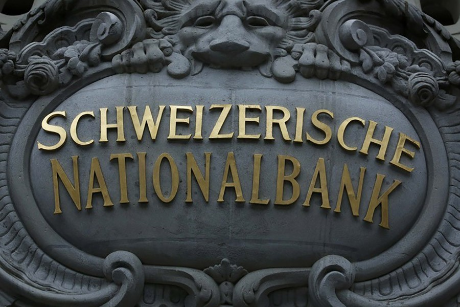 A view of the facade of the Swiss National Bank (SNB) in Bern, Switzerland — Reuters/Files