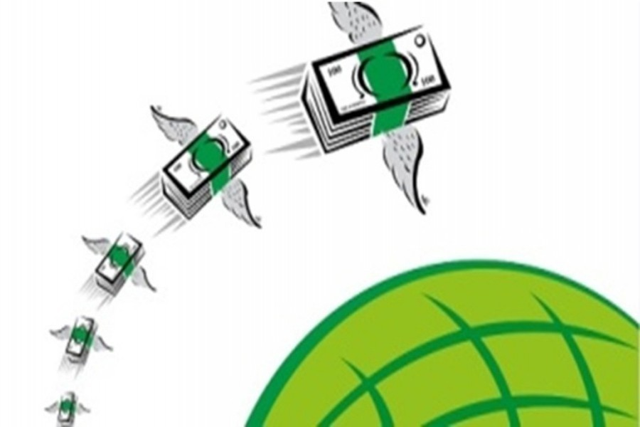 Remittances hit record $18.20b in FY20