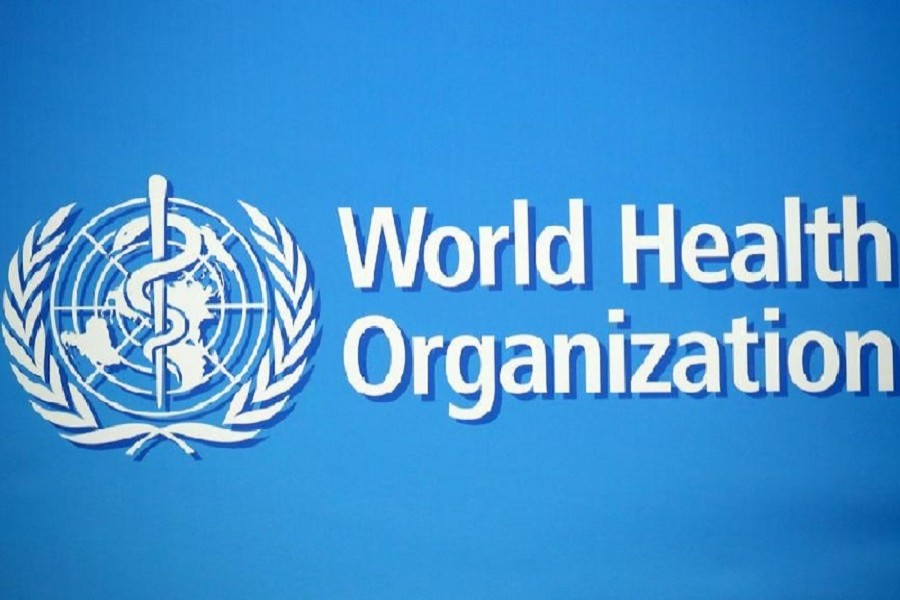 A logo is pictured at the World Health Organization (WHO) building in Geneva, Switzerland, February 02, 2020 — Reuters/Files