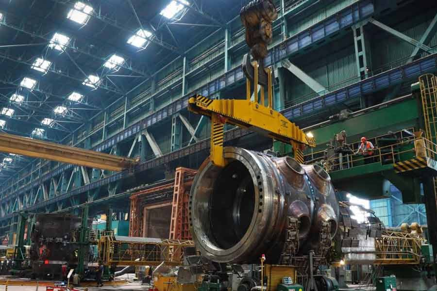 Manufacturing of RPV at Rooppur plant achieves significant progress