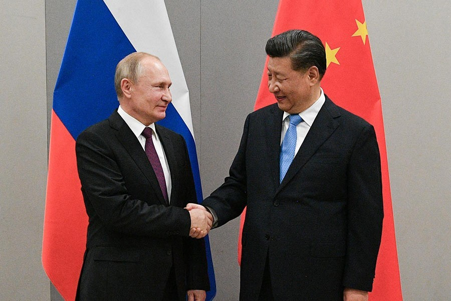 China, Russia vow firm mutual support