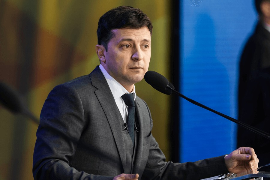 Ukraine and Zelenskiy continue to draw attention