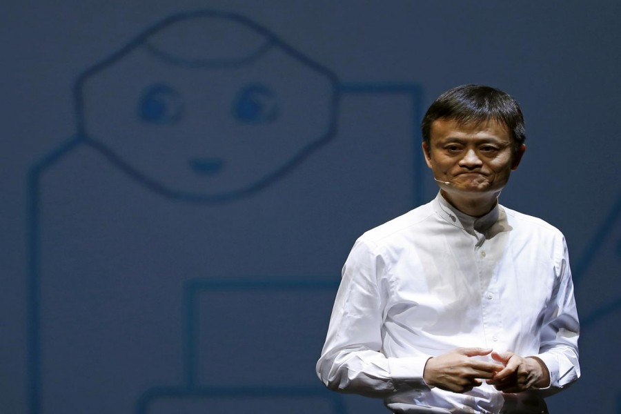 Jack Ma, founder and executive chairman of China's Alibaba Group, seen in this undated Reuters photo