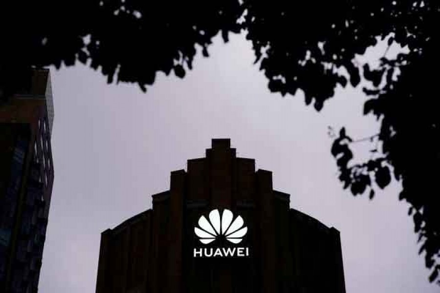 Huawei's new flagship store is seen ahead of tomorrow's official opening in Shanghai, following the coronavirus disease (Covid-19) outbreak, China, June 23, 2020 — Reuters/Files