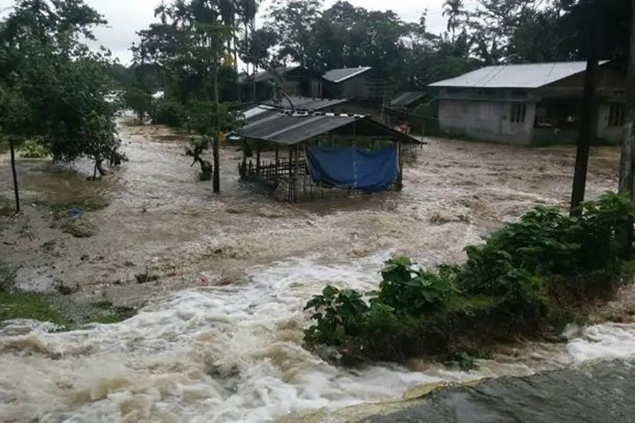 2.2m people affected by floods in India's Assam