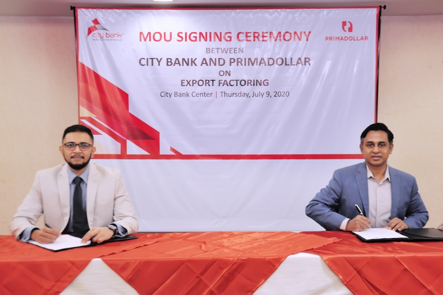 City Bank inks MoU with PrimaDollar