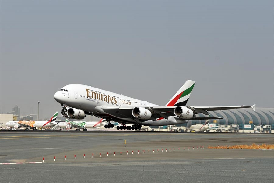 Emirates A380s returns to skies