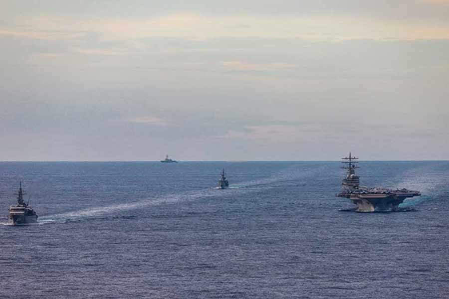 US aircraft carriers return to South China Sea