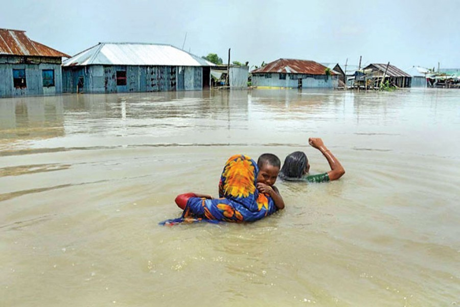 Saving people from floods, pandemic