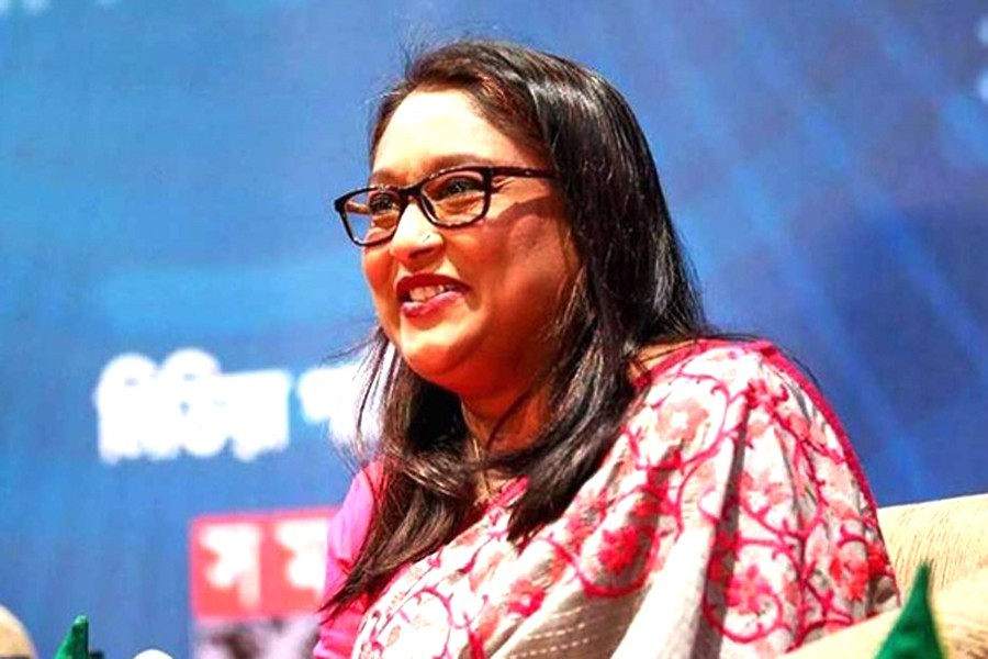Saima Wazed made CVF 'Thematic Ambassador'