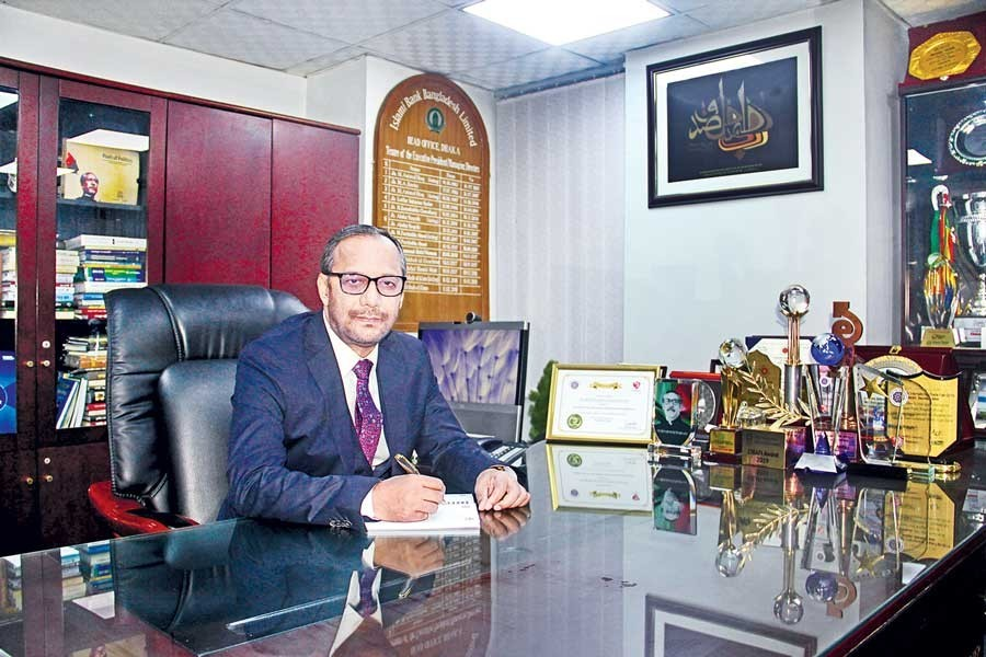 IBBL managing director Md Mahbub-ul-Alam