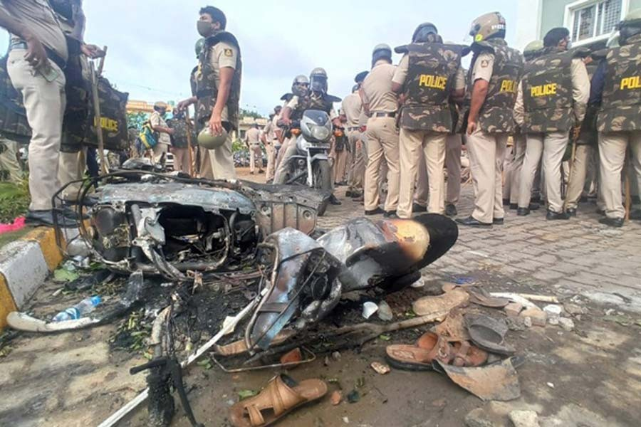 Three killed during India violence over Facebook post