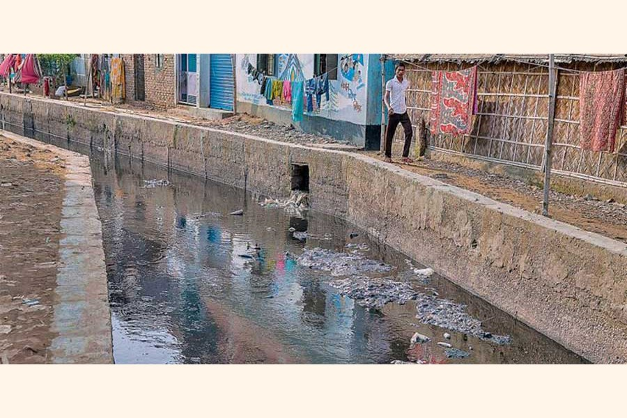 Our drainage system needs immediate attention