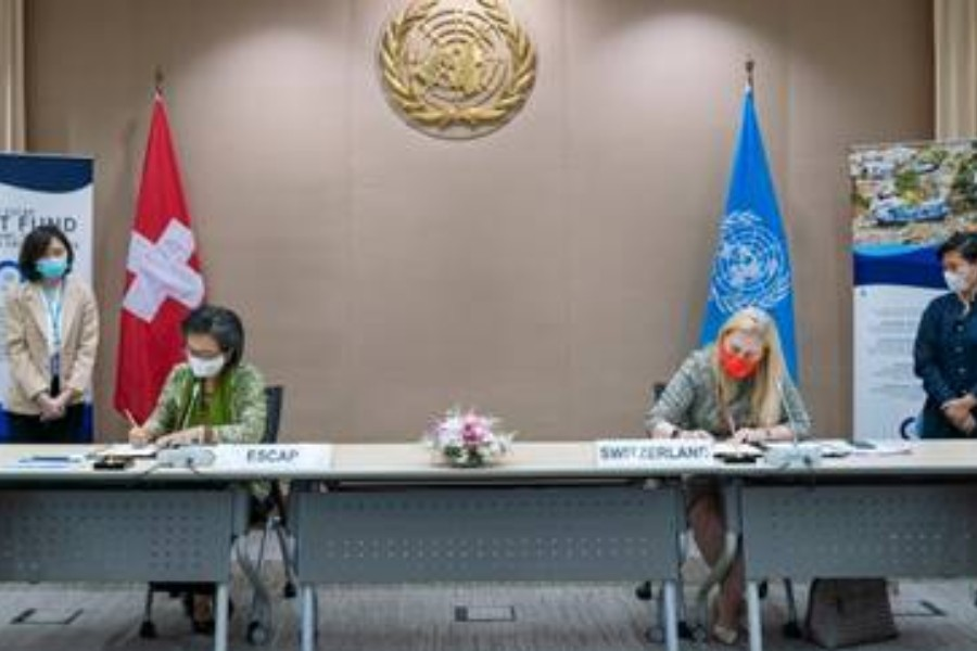 ESCAP, Switzerland to partner for disaster relief in Asia Pacific