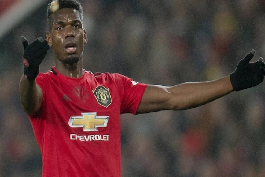 Pogba tests positive for coronavirus