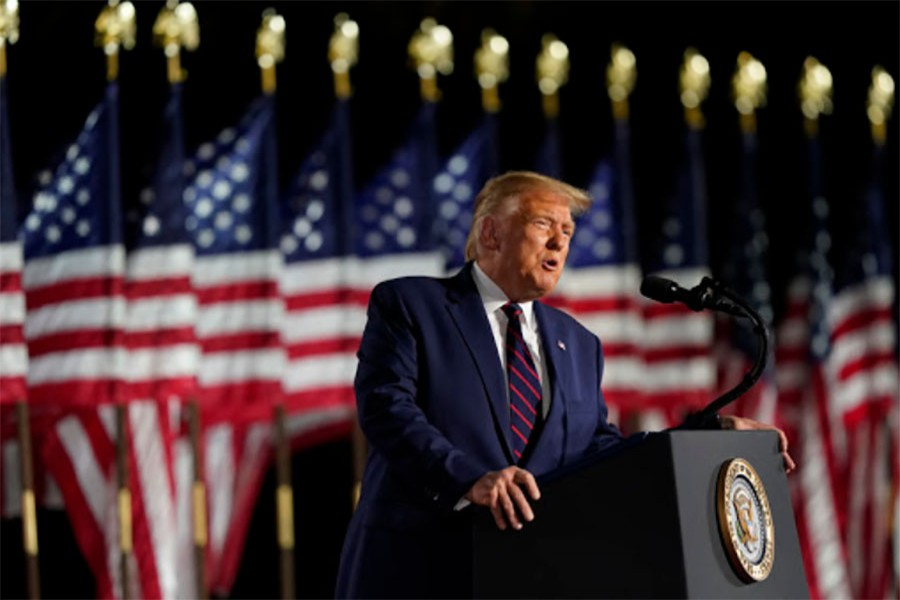 Trump accepts nomination for reelection