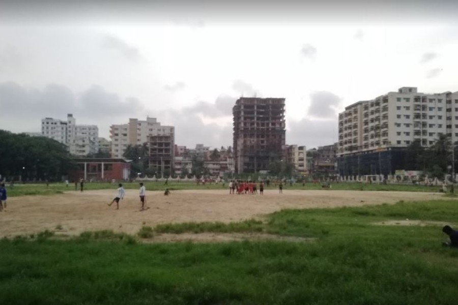 Chattogram College field, popularly known as Parade Ground, is also suffering from neglect - Internet photo used only for representation