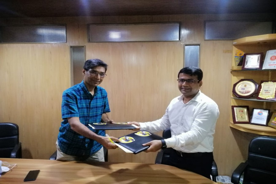 GIM Digital Truck signs MoU with Royal Cement