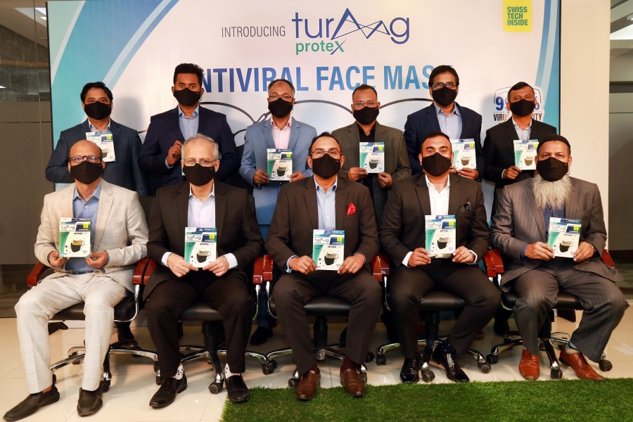 Int'l quality face masks hit the mkt