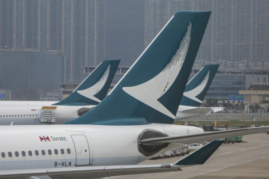 Cathay Pacific grounds two-fifths of passenger fleet amid air travel collapse
