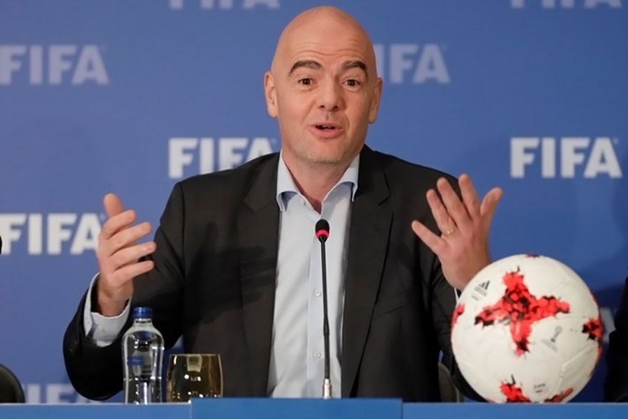 FIFA president meets Trump to discuss 2026 World Cup