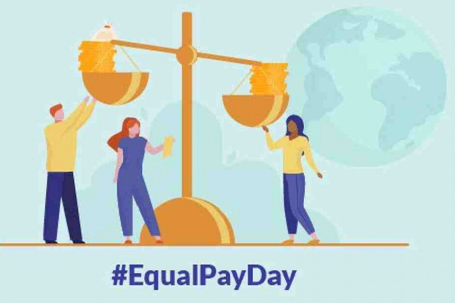 UN says equal pay essential to build a world of dignity, justice