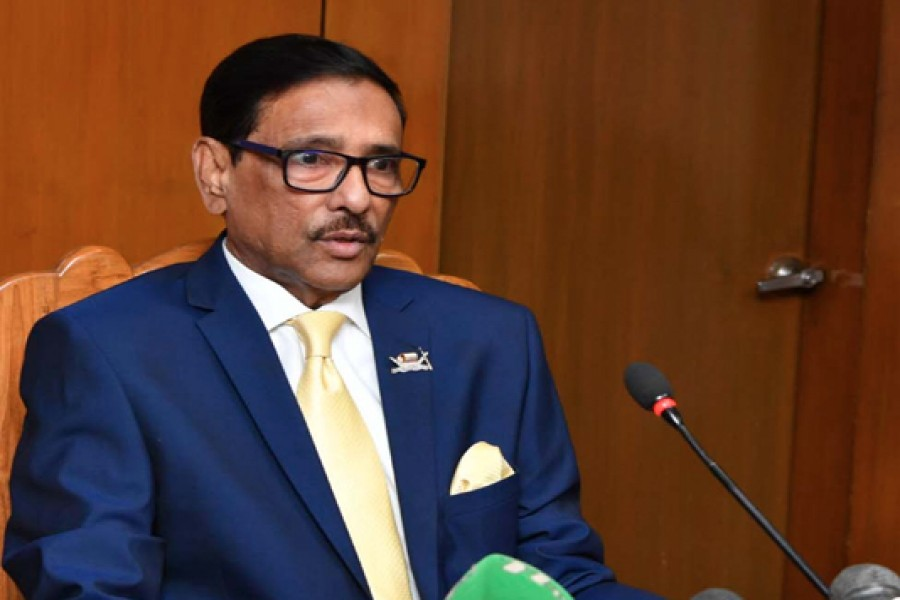 Quader says BNP leaders stay in AC rooms announcing movement