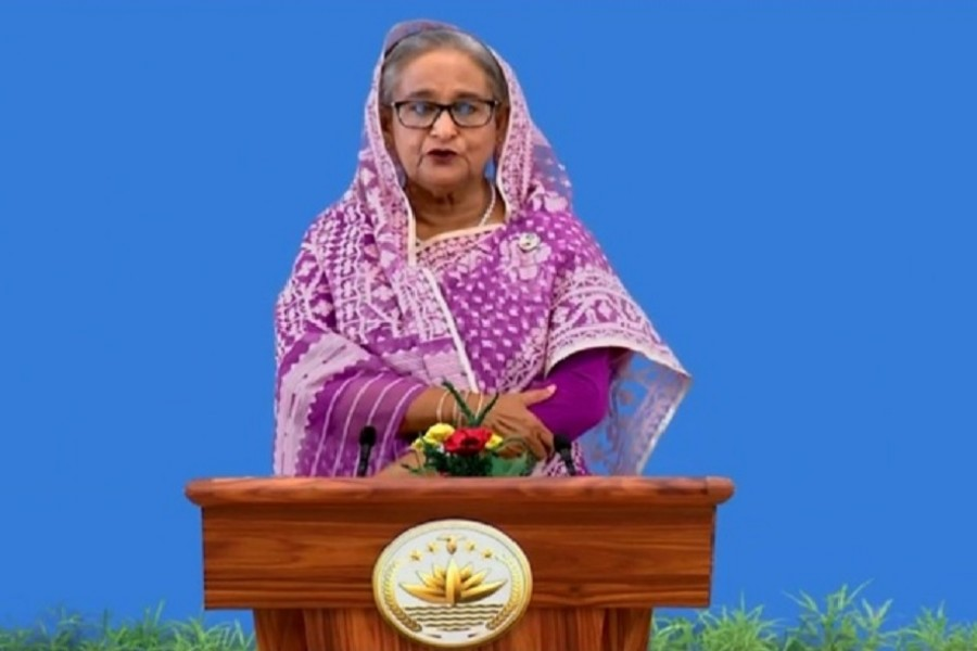COVID-19 vaccine is a 'global public good', Hasina tells UNGA