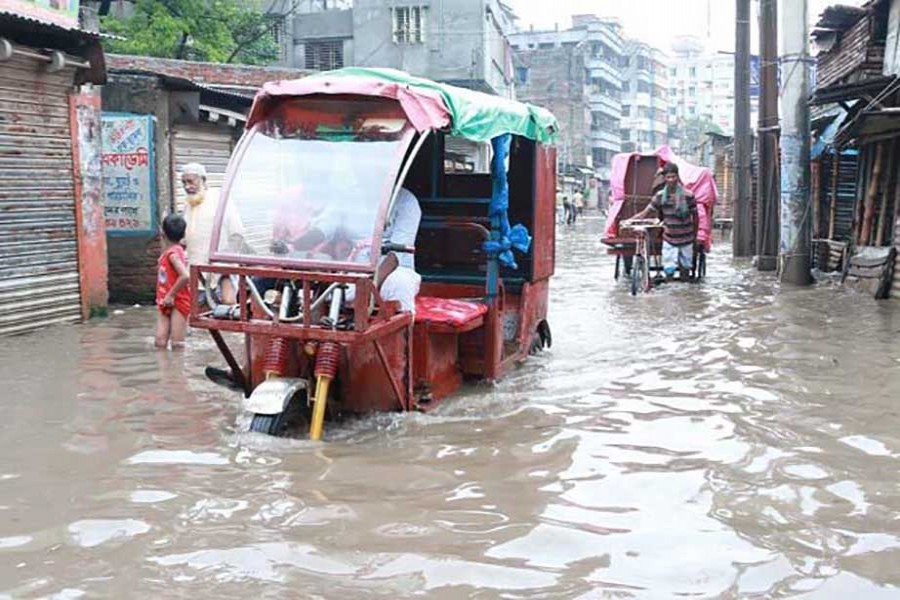 Waterlogging in small cities
