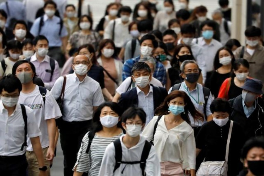 Breathing with face mask does not alter oxygen level; virus can last nine hours on skin
