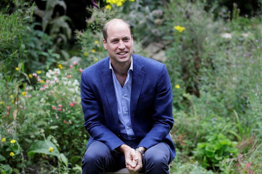 Britain's Prince William launches global environment prize