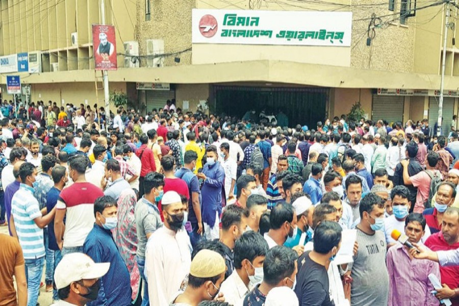 74pc Bangladeshi migrant workers mentally stressed