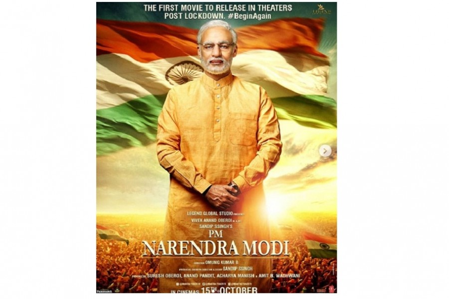 Modi's biopic to first hit screens when cinemas reopen on Oct 15