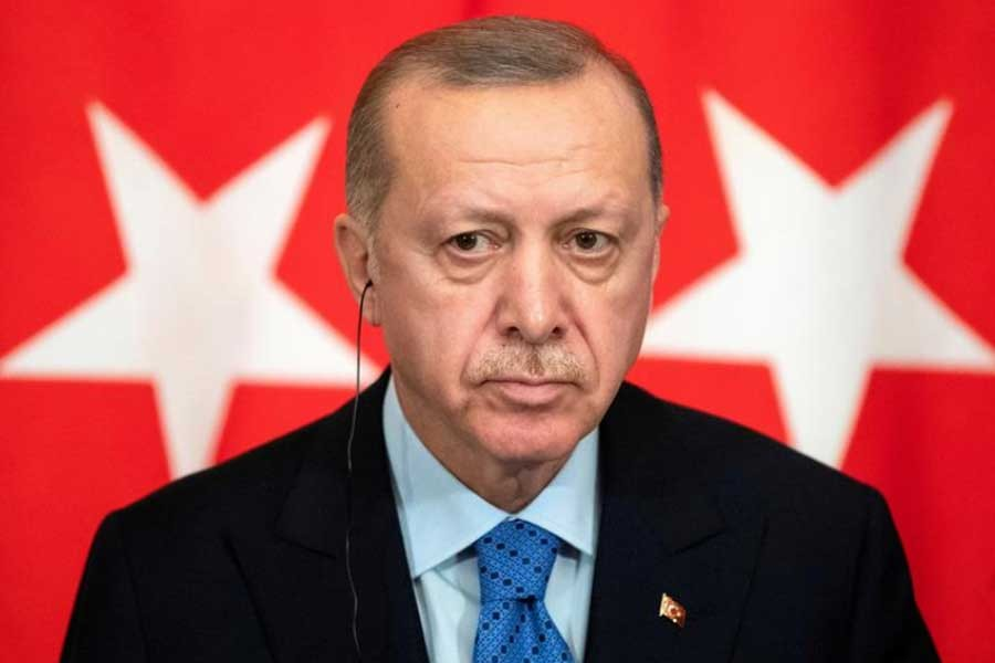 Suspension of drone exports is against alliance spirit, Erdogan tells Trudeau