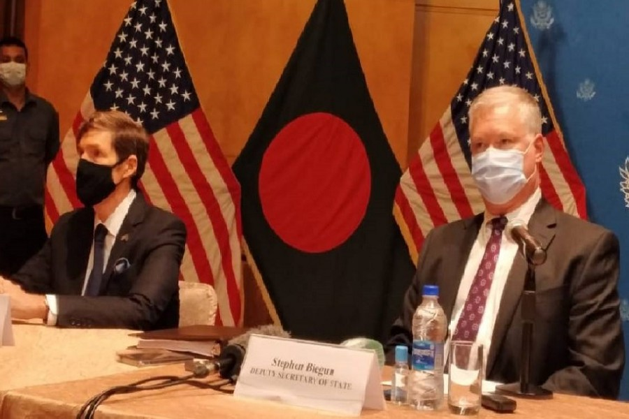 US seeks 'unified voice' from Myanmar's neighbours for Rohingya repatriation