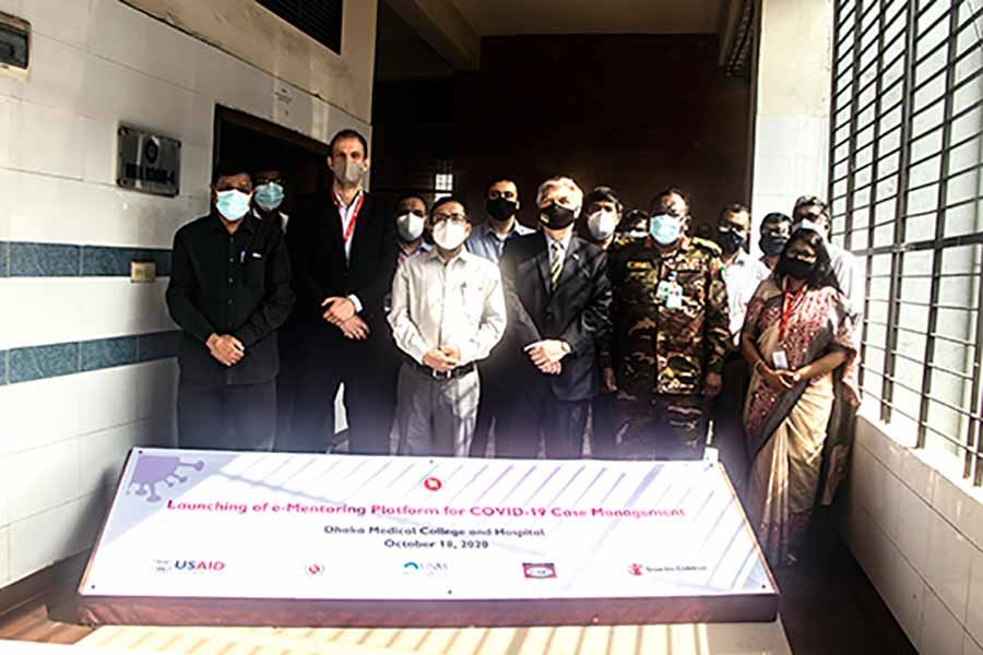 US launches e-mentoring for Bangladeshi doctors to manage Covid cases