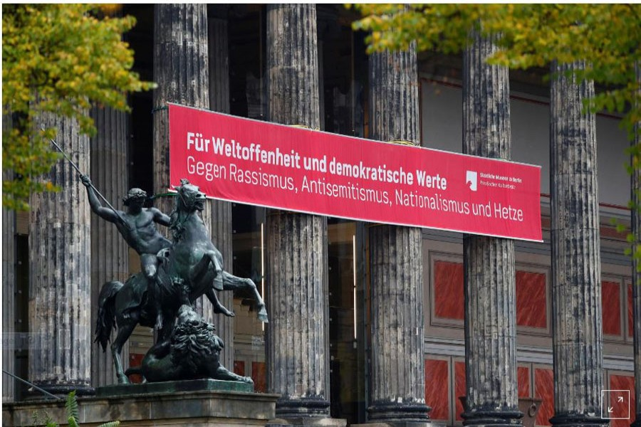 Artworks Vandalized at 3 Berlin Museums