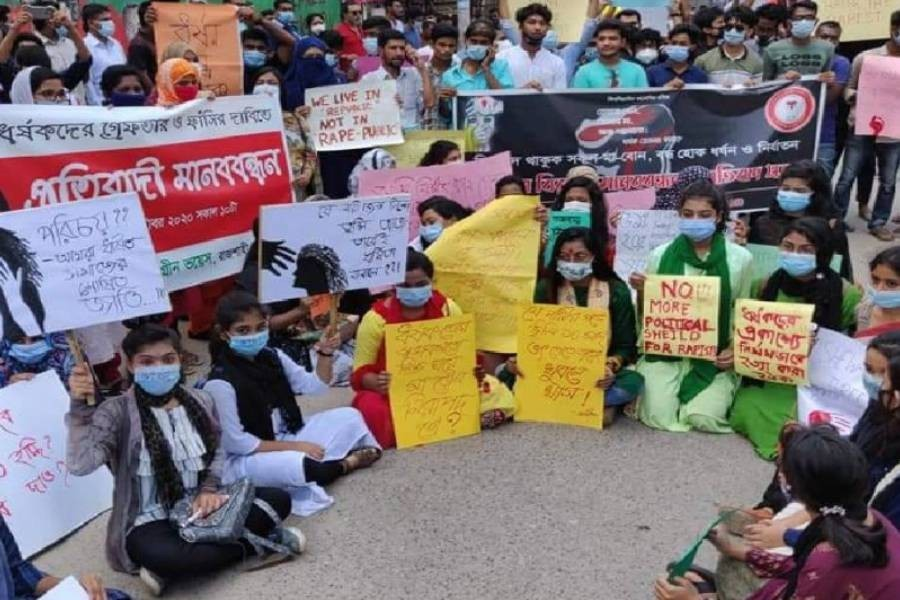 Protest and awareness against sexual crimes