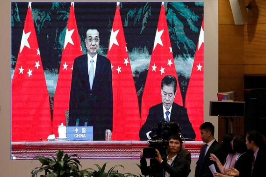 Asia forms world's biggest trade bloc