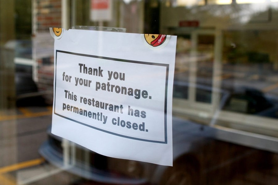 More than 110,000 US restaurants permanently close amid pandemic