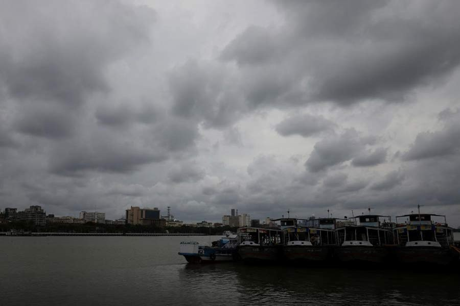 Clouds cover the skies over the river Ganges ahead of Cyclone Amphan in Kolkata in India. The photo was taken on May 19 this year. –Reuters file photo