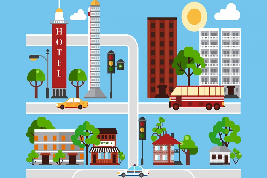 Developing liveable towns and villages