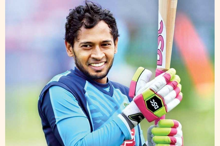 Mushfiqur takes a spot in Wisden's Test XI for cricketers who started as teenagers