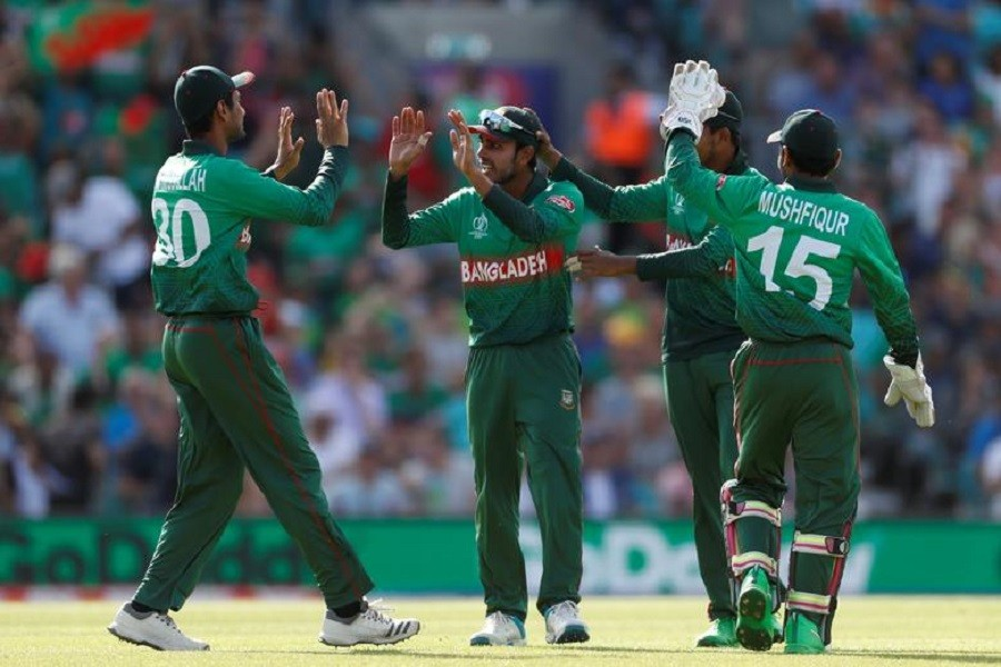 Representational image: Cricket - ICC Cricket World Cup - South Africa v Bangladesh - Kia Oval, London, Britain - June 2, 2019 Bangladesh's Mehedi Hasan celebrates after taking a catch to dismiss South Africa's David Miller — Action Images via Reuters/Paul Childs/Files